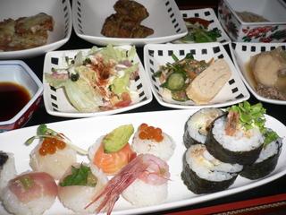 富山ランチブログ隊 うみのしずく てまり寿司ランチ