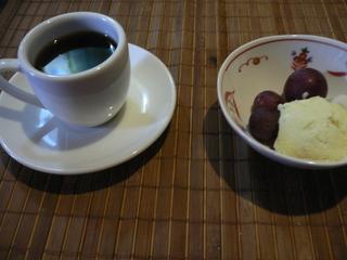 富山ランチブログ隊 うみのしずく 食後プチデザート・コーヒー