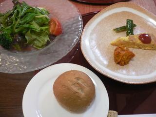 富山ランチ プティ・レギューム 野菜ランチ