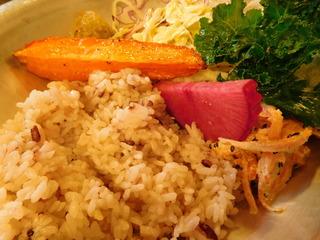 富山ランチブログ隊 ブルーポイント  木の子とチキンのトマト ライス