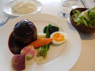 富山ランチブログ隊 ディアンドディパートメント  TOYAMA 自家製ハンバーグ 赤ワインソース