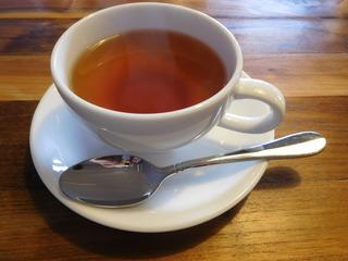 富山ランチブログ隊 コンヴィーヴィオ 食後の紅茶