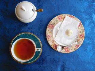 富山ランチブログ隊  ROSE WOOD 食後のデザート+紅茶