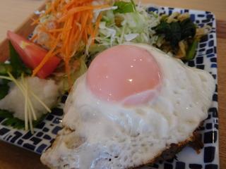 富山ランチブログ隊 お※食堂 塩麹ハンバーグ玄米定食UP