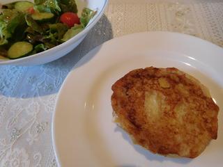 富山ランチブログ隊 ビストロ 和幸 前菜 クロムッシュ にんじんスープ