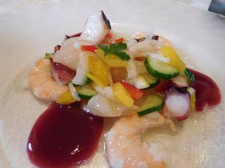 富山ランチブログ隊 ビストロ 和幸 <魚料理>冷製 シーフード マリネ