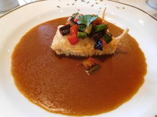 富山ランチブログ隊 ビストロ 和幸 <魚料理> タラのフリット カレーソース