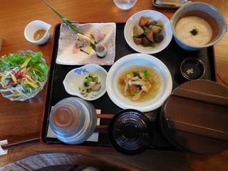 富山ランチブログ隊 呉山飛天 麦とろ御膳セット