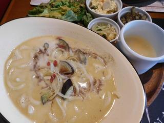 富山ランチブログ隊 Smile Kitchen EGAOSAKU(エガオサク) 豆乳 クリームパスタ
