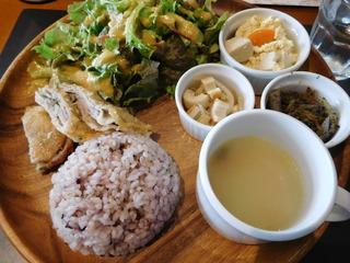 富山ランチブログ隊 Smile Kitchen EGAOSAKU(エガオサク)  ミルフィーユカツ雑穀ごはん