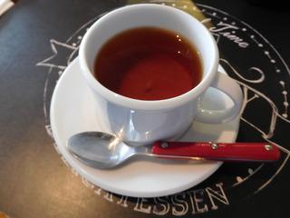 富山ランチブログ隊 Smile Kitchen EGAOSAKU(エガオサク) +ドリンク(ホット紅茶)