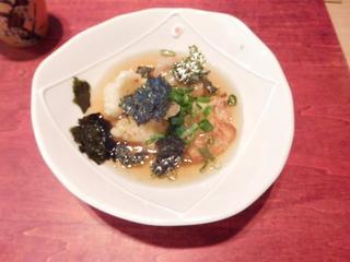 富山ランチブログ隊 かわうち 揚げ出し豆腐とカリフラワー