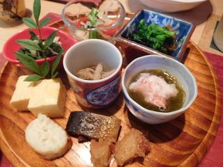 富山ランチブログ隊 かわうち ご飯+味噌汁  小鉢 5品 焼き物等