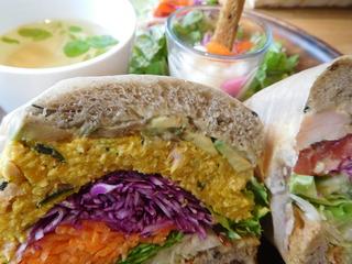 富山ランチブログ隊 アンド ライフ カフェ 「サンドイッチ セット」