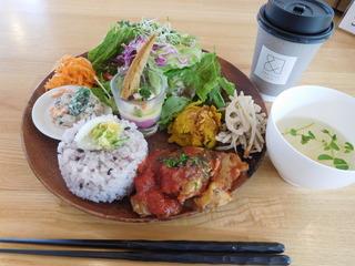富山ランチブログ隊 アンド ライフ カフェ 野菜たっぷりランチ