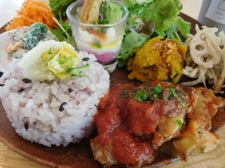 富山ランチブログ隊 アンド ライフ カフェ 野菜たっぷりランチ UP