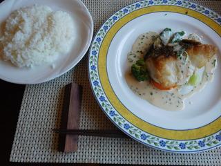 富山ランチブログ隊 らふぃーゆ レディース ランチ 魚料理 (真鯛のポワレ)