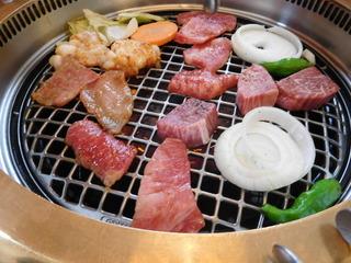 富山ランチブログ隊 けやき 焼肉の網焼き