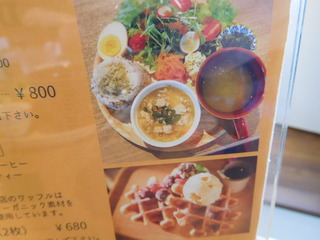 富山ランチブログ隊 ウッドペッカーカフェ 店  日替わりのワンプレート ランチ・ワッフル プレート