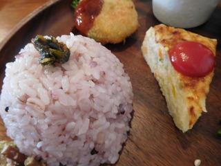 富山ランチブログ隊 ウブス・ア・ディジー ランチプレート 雑穀米