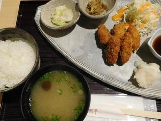 富山ランチブログ隊 漁さい亭 和風カキフライ定食