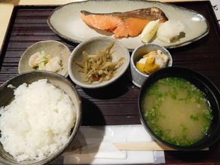 富山ランチブログ隊 漁さい亭 鮭 西京焼 定食