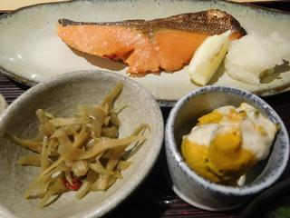 富山ランチブログ隊 漁さい亭 鮭 西京焼 定食 UP