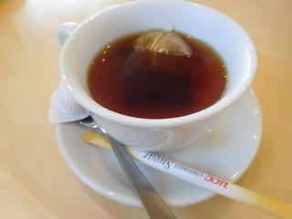 富山ランチブログ隊 トラットリア サッチ((TRATTORIA)) 食後のドリンク 紅茶