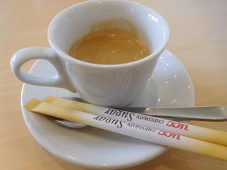富山ランチブログ隊 トラットリア サッチ(TRATTORIA) 食後のドリンク エスプレッソ