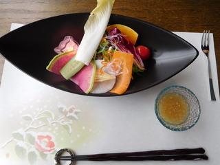 富山ランチブログ隊 Steak&Fusion IZUMI 前菜