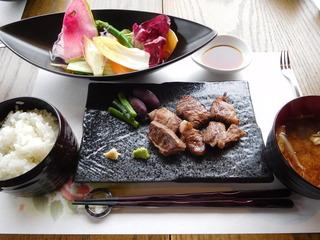 富山ランチブログ隊 Steak&Fusion IZUMI  ステーキ ランチ