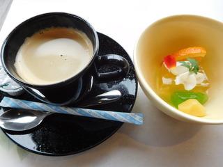 富山ランチブログ隊 Steak&Fusion IZUMI 食後のデザート&ドリンク
