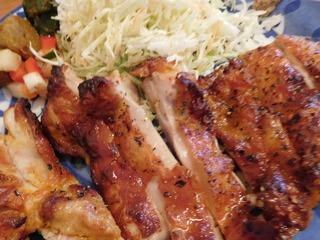 富山ランチブログ隊 アオヤギ食堂 タンドリーチキン 画像 UP