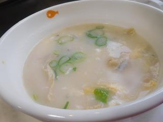 富山ランチブログ隊 ぼてじゃこ山室店 コムタンスープ