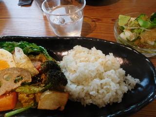 富山ランチブログ隊 カレー食堂 コロポ 豆乳味噌無水カレー とりやさい