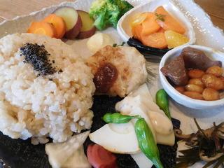 富山ランチブログ隊 豆こ食堂 やむなし やさいごはん 画像UP