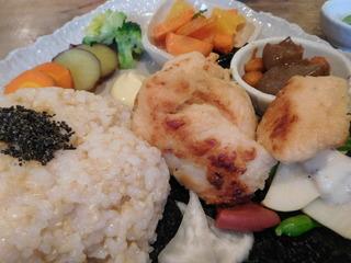 富山ランチブログ隊 豆こ食堂 やむなし 肉野菜 画像UP