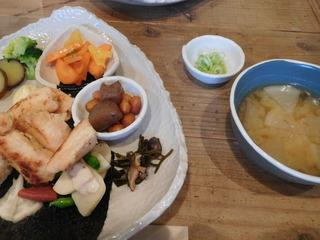 富山ランチブログ隊 豆こ食堂 やむなし 肉野菜ご飯