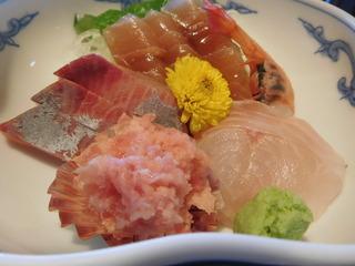 富山ランチブログ隊 なか市 刺身定食 画像 UP