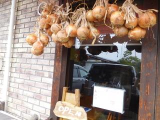 富山ランチブログ隊 かもめのジョナコ 店頭 オープン木製 看板