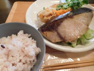 富山ランチブログ隊 ベントースタンドファムズデリー ぶりの塩焼き ランチ