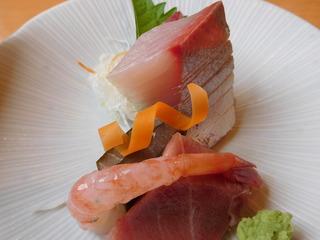 富山ランチブログ隊 旬彩ごちそう 昼ごちそう膳  さしみ