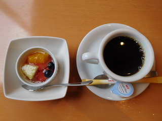 富山ランチブログ隊 旬彩ごちそう 昼ごちそう膳 食後のデザート コーヒー&スイーツ