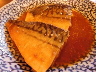 富山ランチブログ隊 サバの味噌煮定食 サバの画像 UP