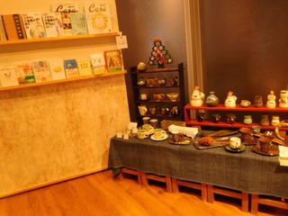 富山ランチブログ隊 和風カフェ&ランチ 和氣 ii 店内 飾り物