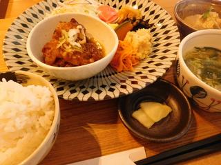 富山ランチブログ隊 和風カフェ&ランチ 和氣 ii 豚の角煮ランチ