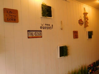 富山ランチブログ隊 ほんごうの木珈琲 お店入口からの通路