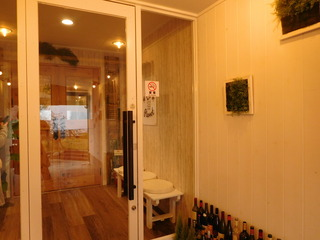 富山ランチブログ隊 ほんごうの木珈琲 店内入口