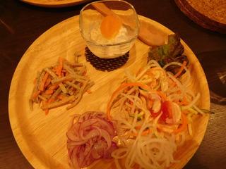 富山ランチブログ隊 ほんごうの木珈琲 ピエロランチ  前菜