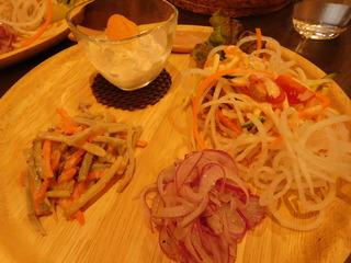 富山ランチブログ隊 ほんごうの木珈琲 前菜 画像UP